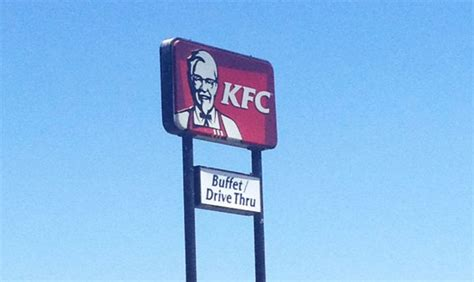 So Apparently This Kfc Location Has An All You Can Eat Buffet Kfc Buffet Locations