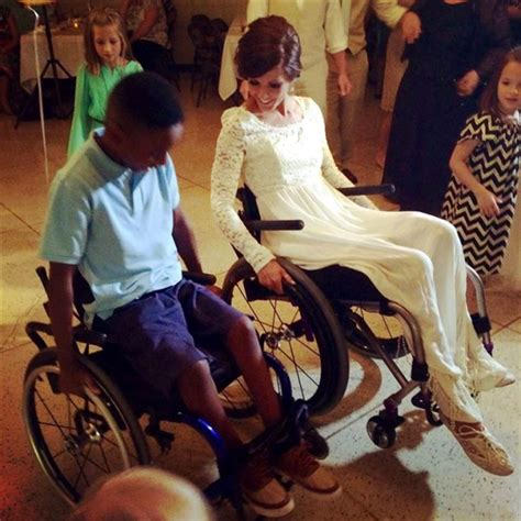 Wedding Aisle Crash by Paralyzed In Crash Learns To Walk The Aisle For