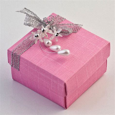 Wedding Favors Uk by Bright Pink Silk Favour Box Uk Wedding Favours