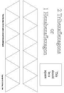 hexaflexagon template printable marcia s science teaching the fabulous flexagon