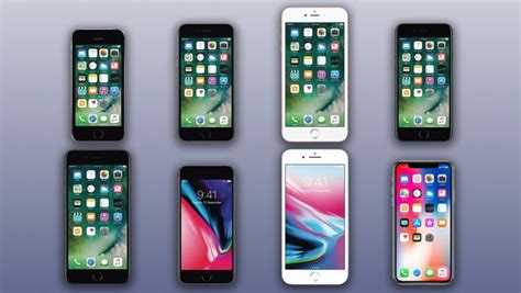 Iphone Comparison by Comparing The 8 Current Iphones Iphone X Vs 8 8 Plus 7 7 Plus 6s 6s Plus And Se