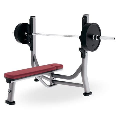 flat bench with rack olympic flat bench sofb life fitness