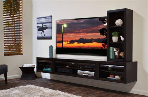 3 Shelf Entertainment Center by Floating Tv Stand Entertainment Console Eco Geo Espresso