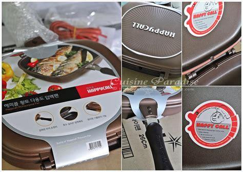 Happy Call Pan Work Pan T3010 cuisine paradise singapore food recipes reviews