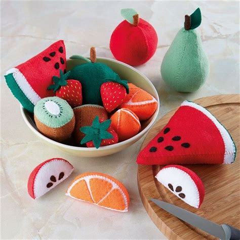 Handmade Toys Patterns - 25 best ideas about felt fruit on felt food