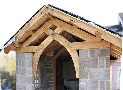 A Frame Cottage oak homes joinery new timber frame gothic conservatory