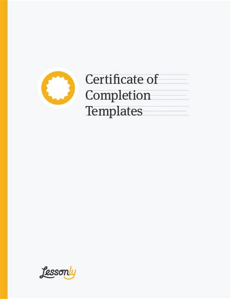 certificate of completion word template boom 4 free certificate of completion templates ms word