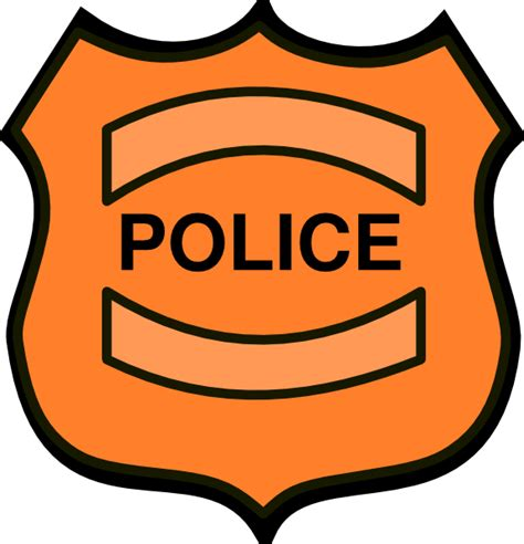 police shield template clipart best