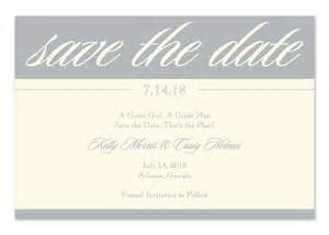 Sterling save the date corporate invitations by invitation