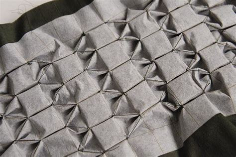 grid pattern for matrix design of canadian smocking american smocking