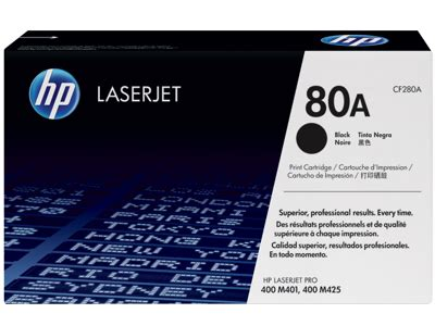 Toner Laserjet Hp 80a Original Bergaransi hp 80a cf280a black original laserjet toner cartridge by office depot officemax