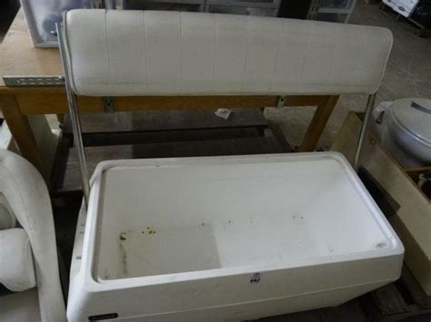 cooler bench seat captain s cooler bench seat needs seat bay area