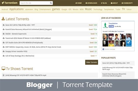 Torrent Template free torrent templates why and how