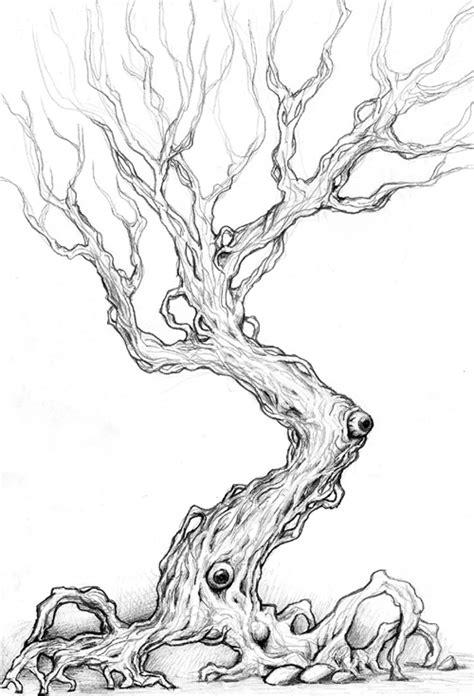 scary tree tattoo designs spooky tree design by imgema on deviantart