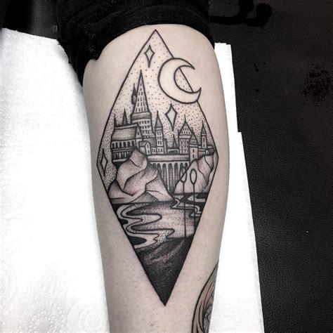 hogwarts tattoo use with big dipper idea big dipper ideas