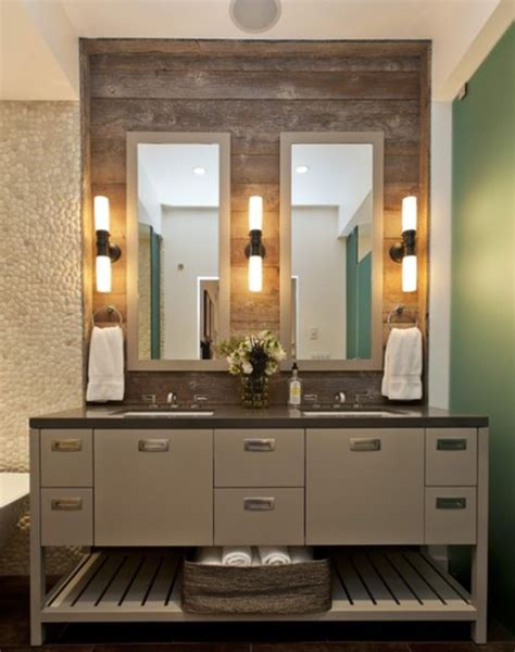 reclaimed wood bathroom how to decorate using reclaimed wood