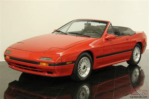 who manufactures mazda cars mazda rx 7 convertible
