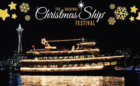 seattle christmas boat parade 2017 parade of boats 3rd annual argosy cruises christmas ship