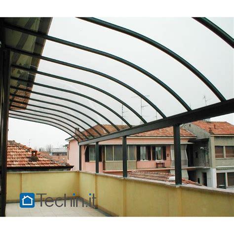 pensiline e tettoie in policarbonato pensiline alluminio mod pensiline alluminio misura