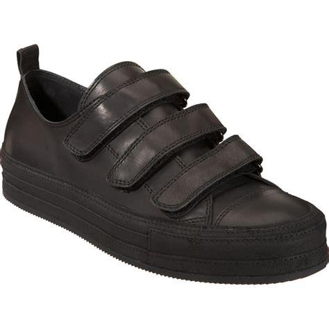 velcro sneaker demeulemeester velcro 174 sneaker in black for