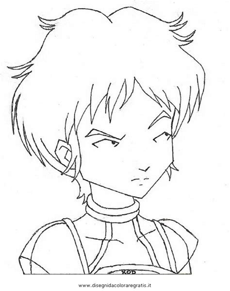 code lyoko aelita colouring pages