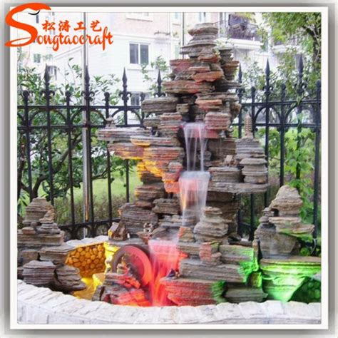 Wholesale Gardens by 2015 China Factory Wholesale Garden Indoor Small Mini Decorative Fiber Glass Water With