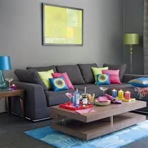 30 id 233 es d am 233 nagement de salon moderne couleurs vives