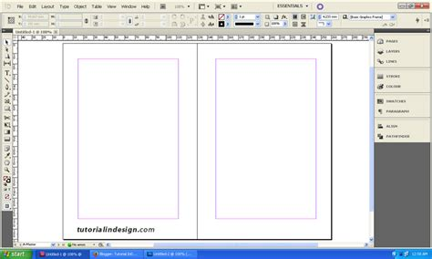 layout buku di ms word cara membuat layout buku sederhana dengan indesign