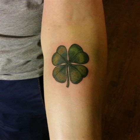 four leaf clover tattoo meaning journal the new way to design your 45