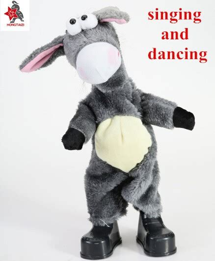 hot sale plush singing and dancing donkey toys buy