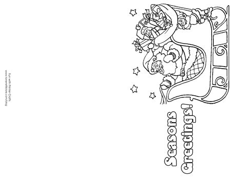 printable christmas cards for kids to color how to make printable christmas cards for kids to color
