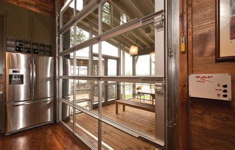 see through garage doors 29 best sea can home images on home ideas