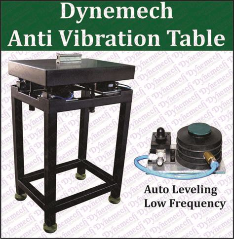 shock resistant anti vibration table with pneumatic