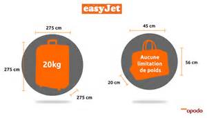 bagages cabine easyjet dimensions