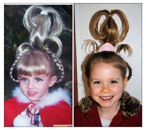 lorax braids hair dr seuss dress up cindy lou who costumes pinterest