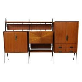 modern modular bookcase italian mid century modern modular bookcase italian