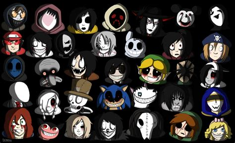 all creepypastas which creepypasta character are you proprofs quiz