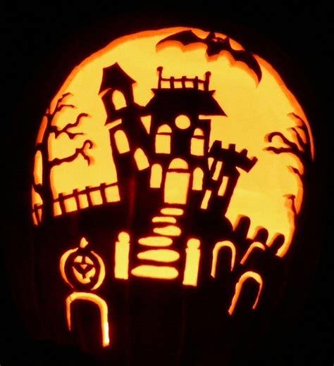 haunted house pattern for pumpkin carving haunted house 800 by pumpken via flickr pumpkin