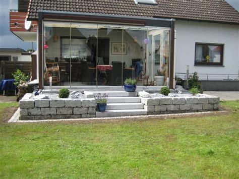 terrasse mit stufen terrasse mit stufe deryckere handwerk deryckere handwerk