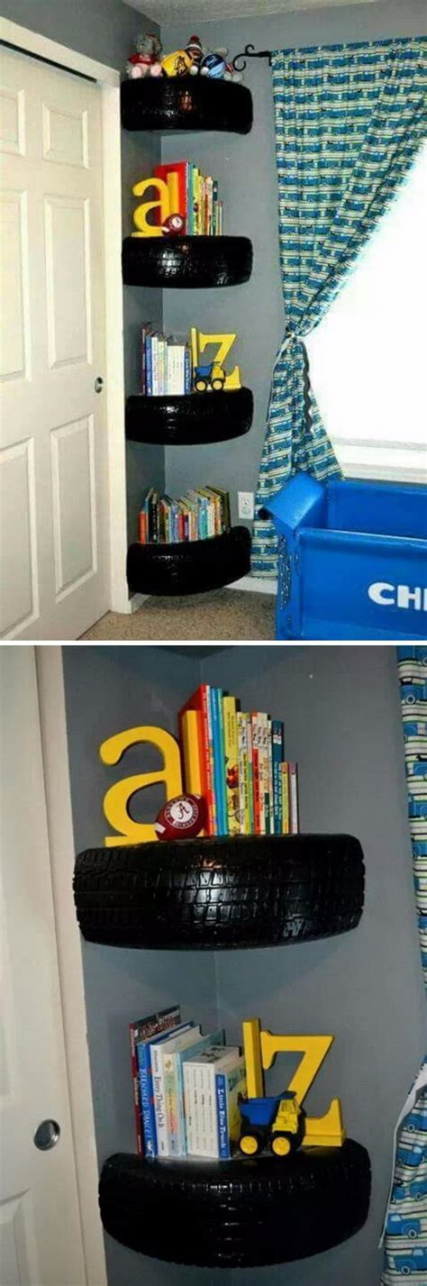 Boys Shelf by 20 Cool Diy Shelf Ideas To Spruce Up Your Boy S Room Wall 2017