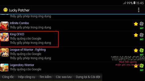 download game mod cho android king of ko mod tiền game chiến đấu đường phố cho android