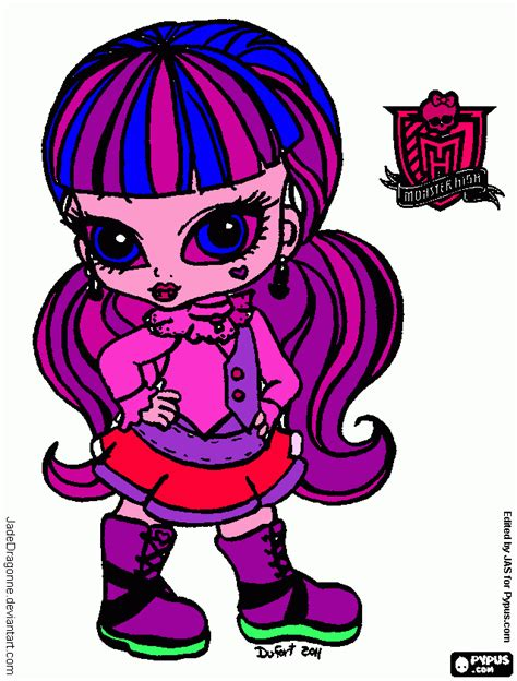 free monster high logo coloring pages