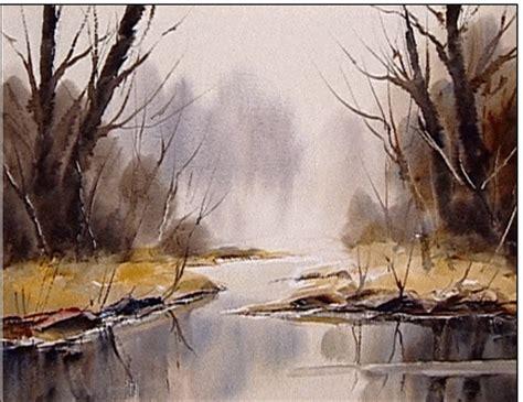 watercolour landscapes   dvd ron ranson