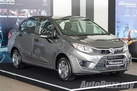 Proton Persona by 2016 Proton Persona Launched 4 Variants Priced From
