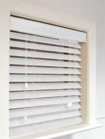 Wooden Blinds White Wooden Blinds To Add Attraction To Your Home