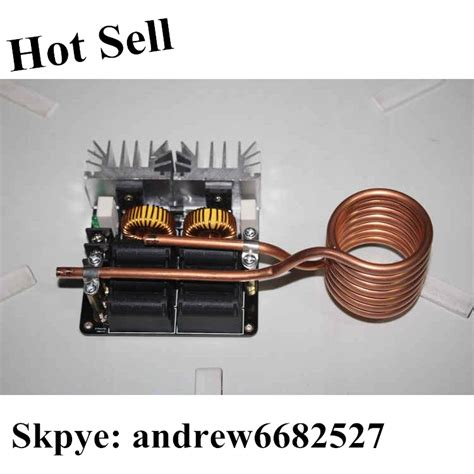 inductor self heating low voltage high frequency induction heater induction heating machine needed self powered on