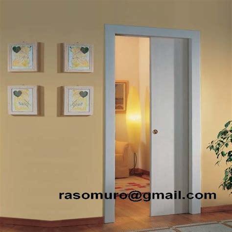 controtelaio porta interna porta scorrevole a scomparsa interno muro completa