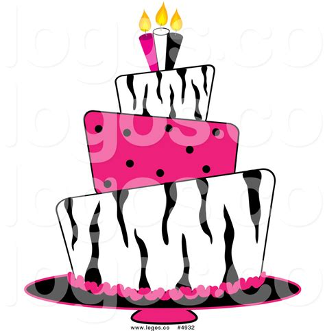 birthday pattern pink vector royalty free birthday clipart 42