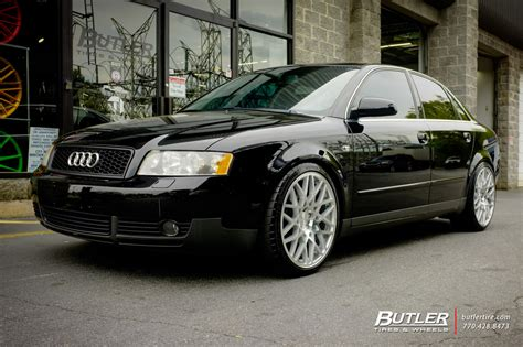 audi a4 with 19in rotiform blq wheels exclusively from