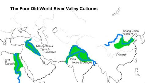 world map river valley civilizations civilizations early river